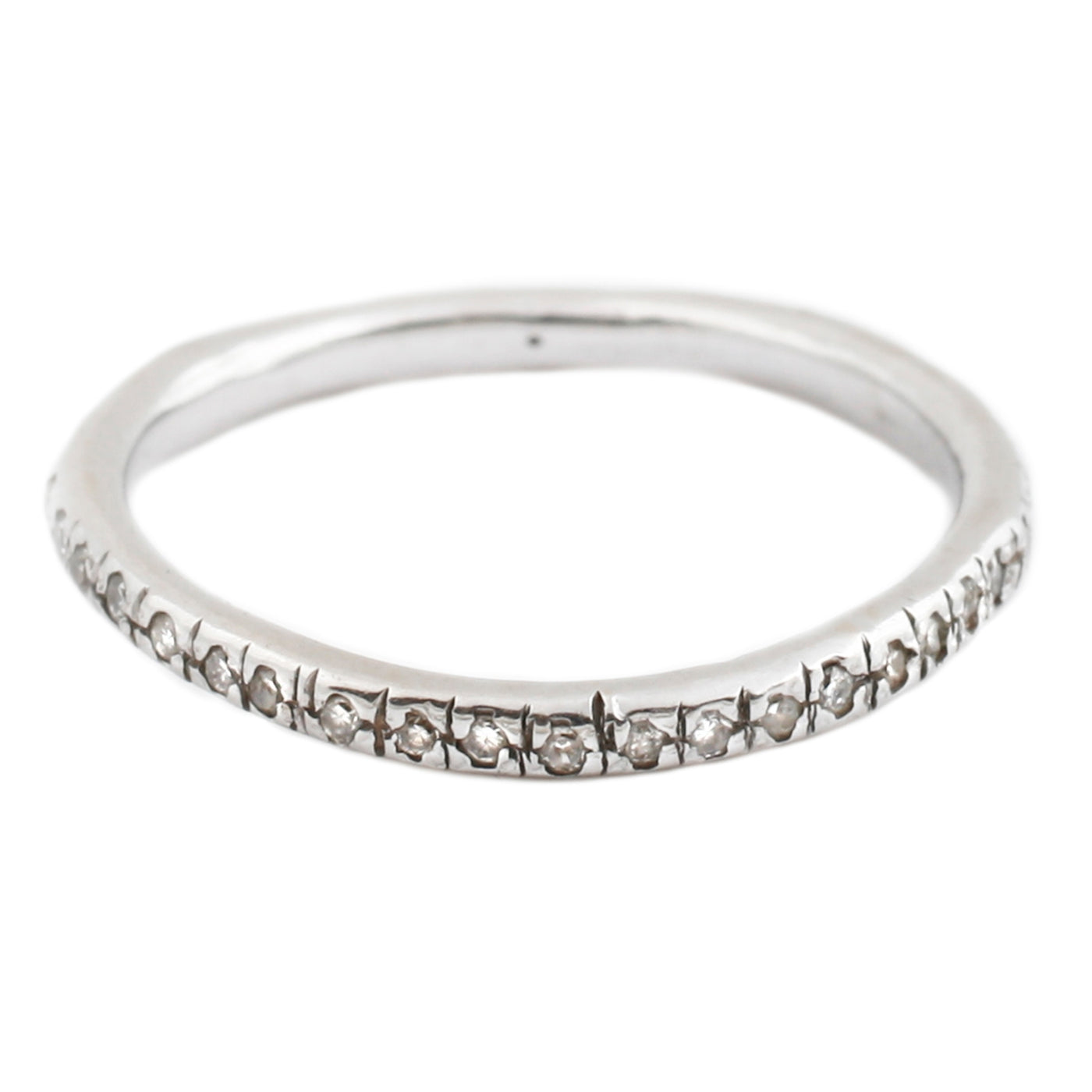 Lauren Wolf White Gold White Diamond Eternity Band