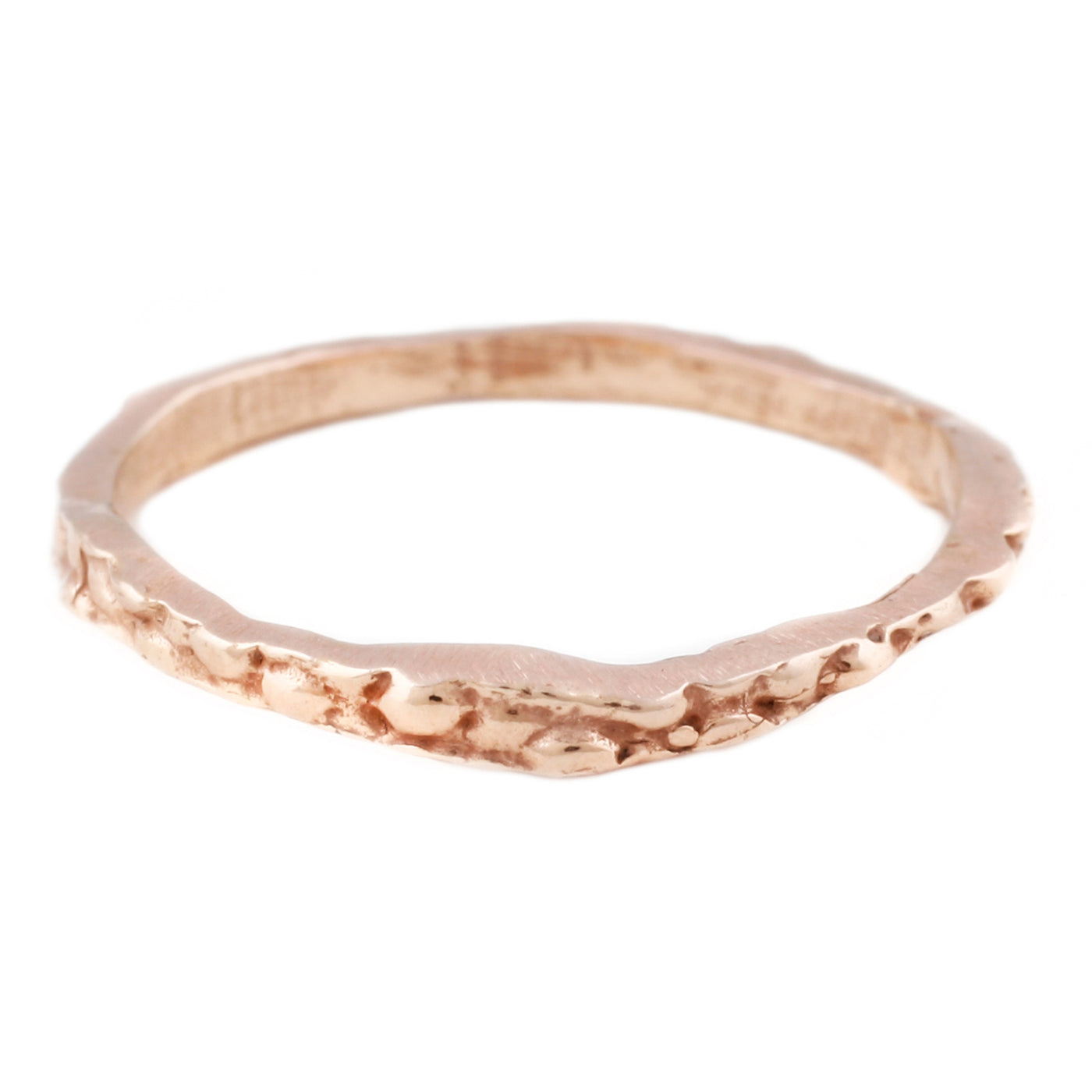 Lauren Wolf Jewelry Rose Gold Stingray Stacking Band