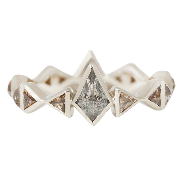 Lauren Wolf Isosceles Diamond Eternity Band