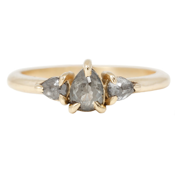 Lauren Wolf Golden Trio Diamond Ring
