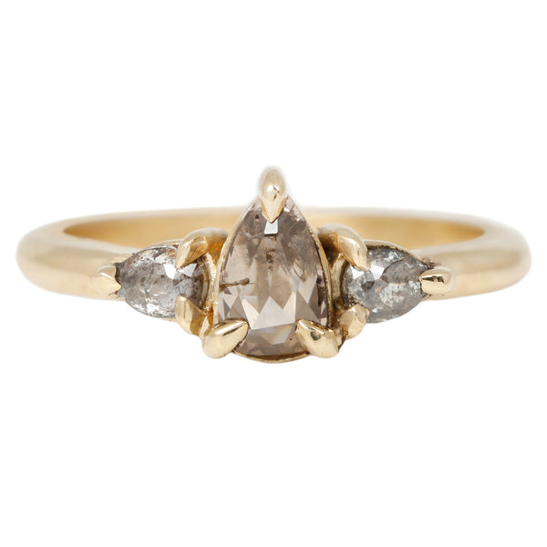 Lauren Wolf Honey Three Diamond Ring