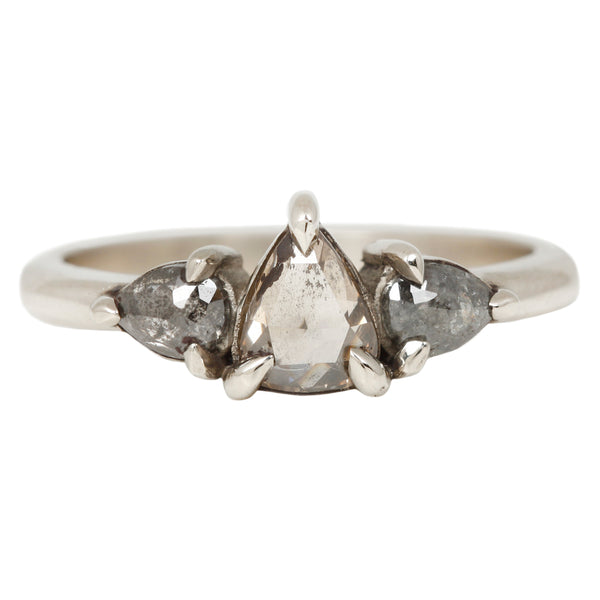 Lauren Wolf Greyscale Diamond Ring