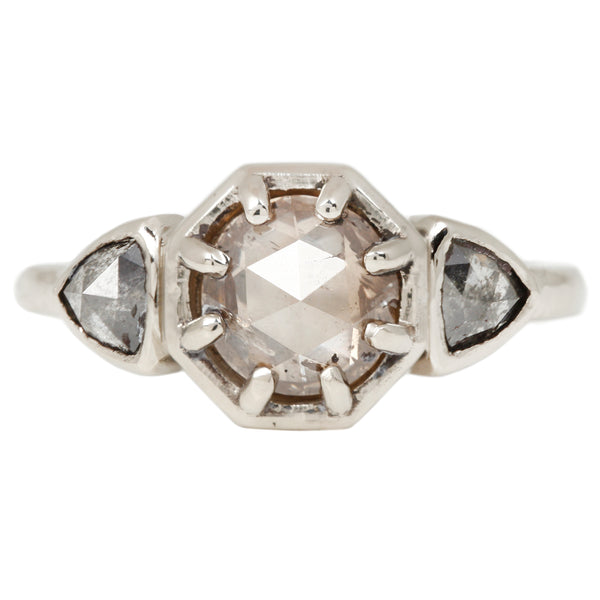 Lauren Wolf Frosty Diamond Ring