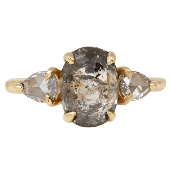 Lauren Wolf Opulent Oval Diamond Ring