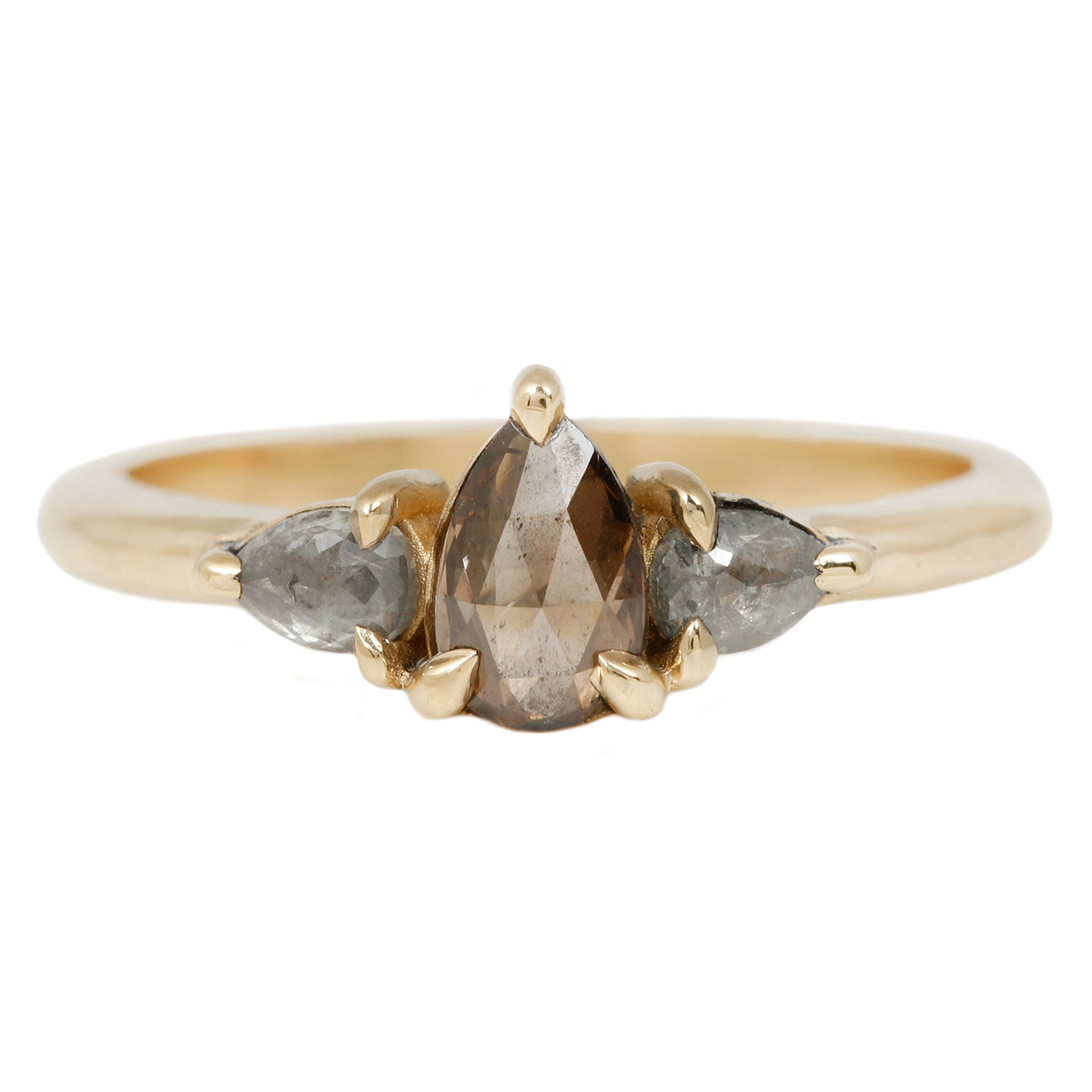Lauren Wolf Metropolitan Diamond Ring in Yellow Gold