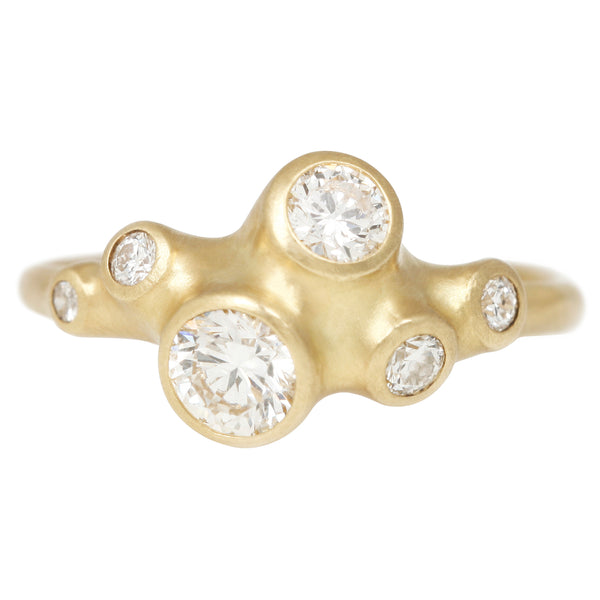 Johnny Ninos Seven Barnacle Diamond Ring