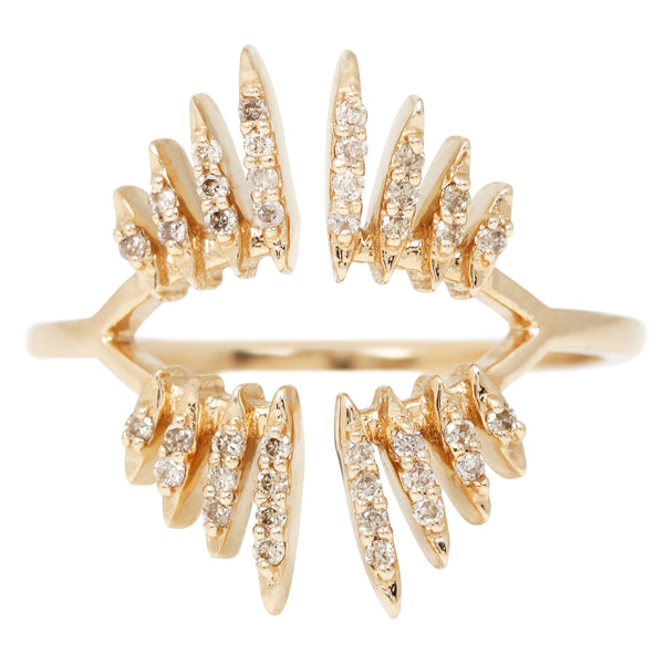Celine D'Aoust Open Beam Diamond Ring
