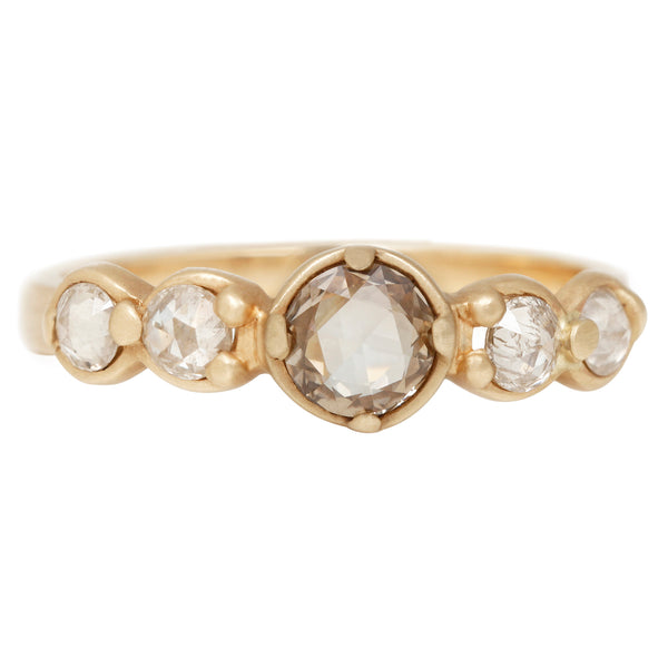 Rebecca Overmann Stepping Stone Diamond Ring