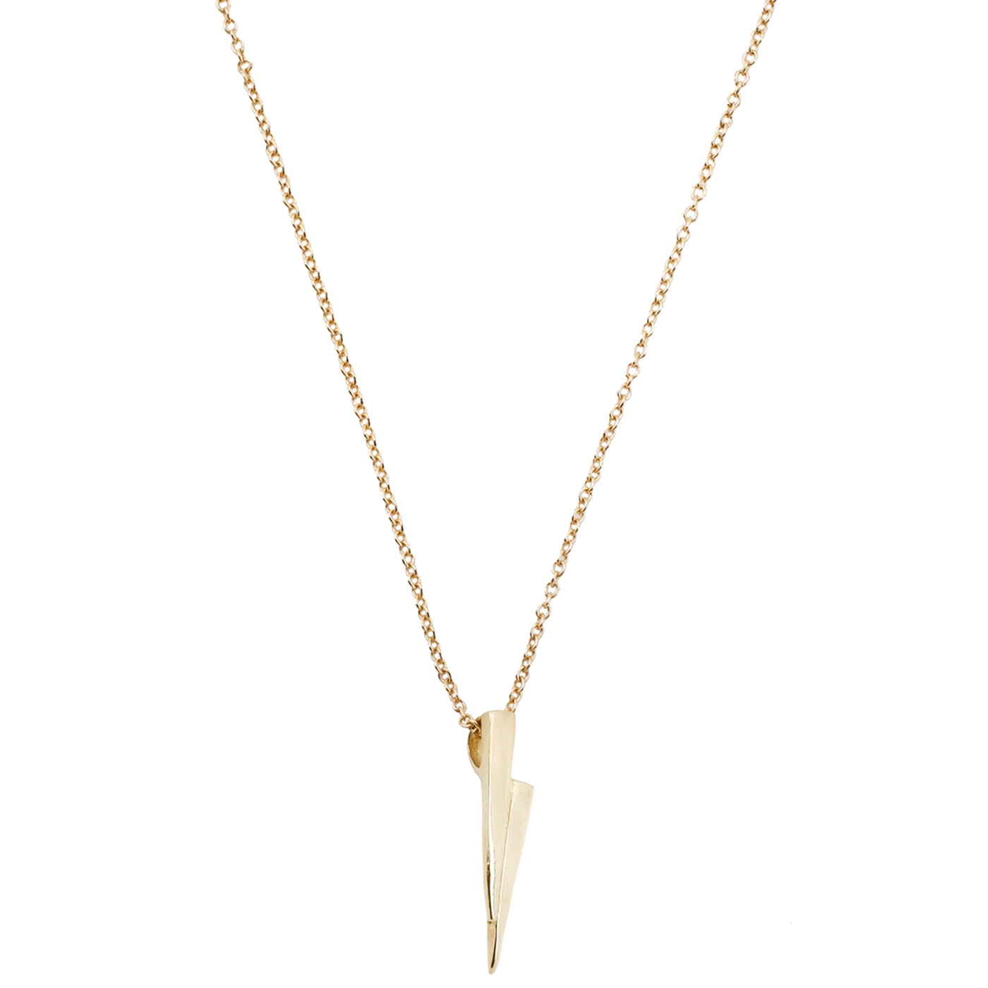 Gold Razor Necklace