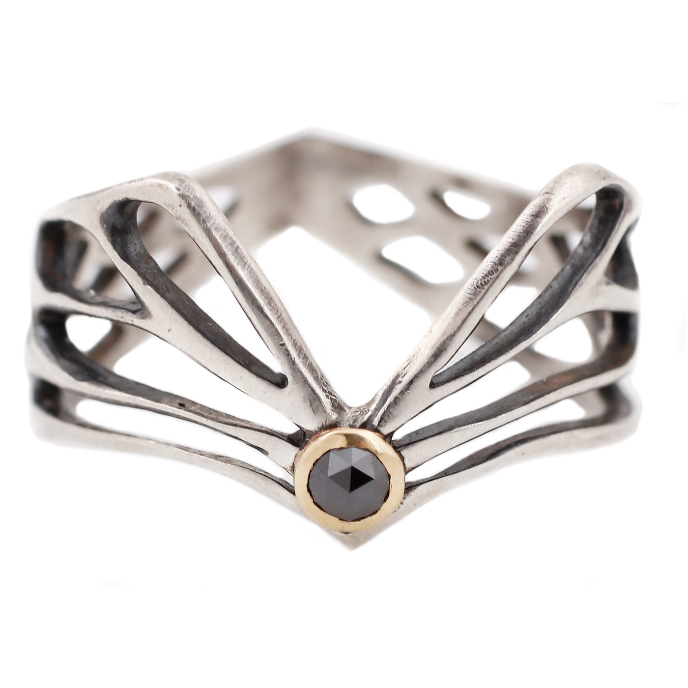 Luana Coonen Diamond Winged Ring