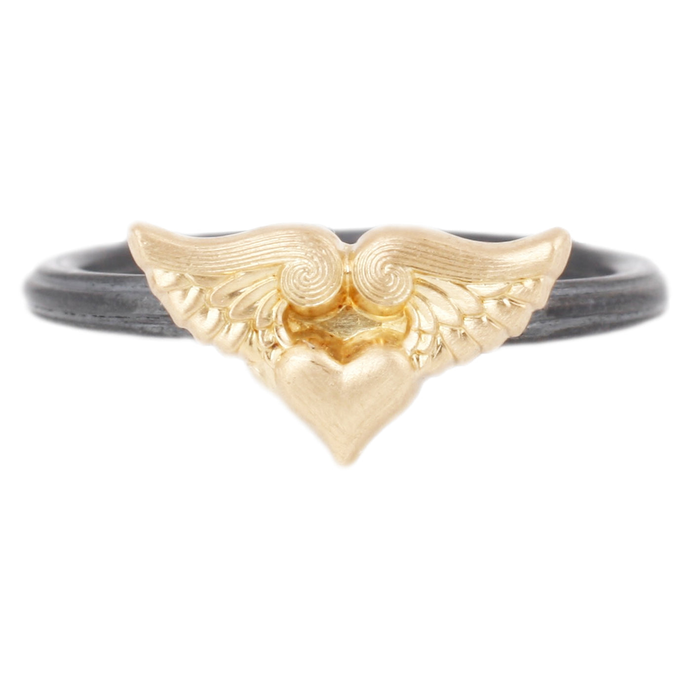 Anthony Lent Winged Heart Ring