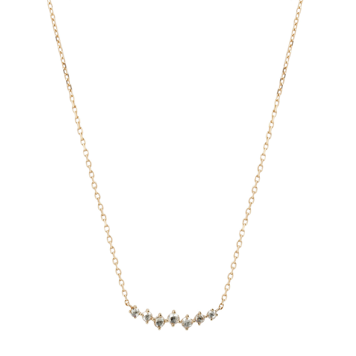 Twisted Diamond Necklace