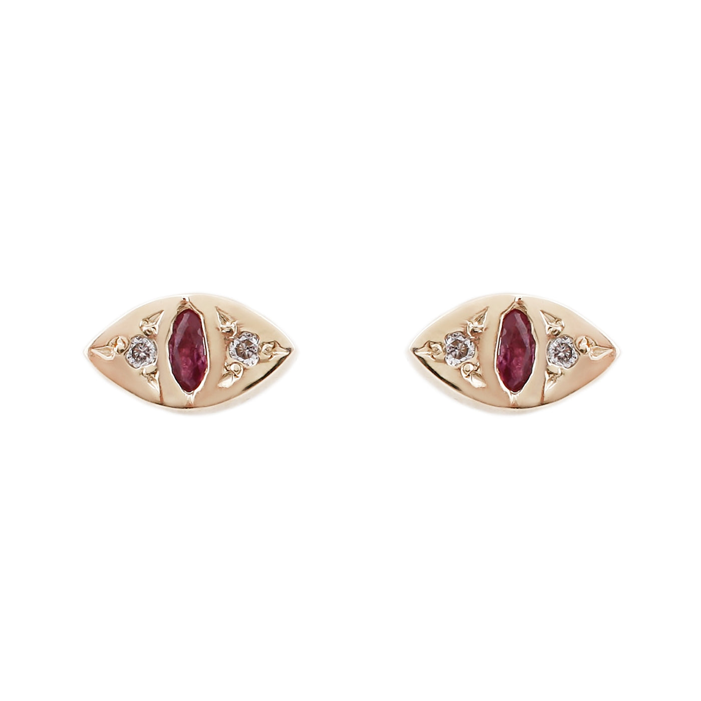 Scosha Edwardian Eye Studs Earrings