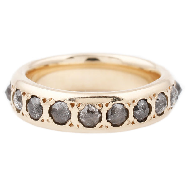 Gray Diamond Eternity Band