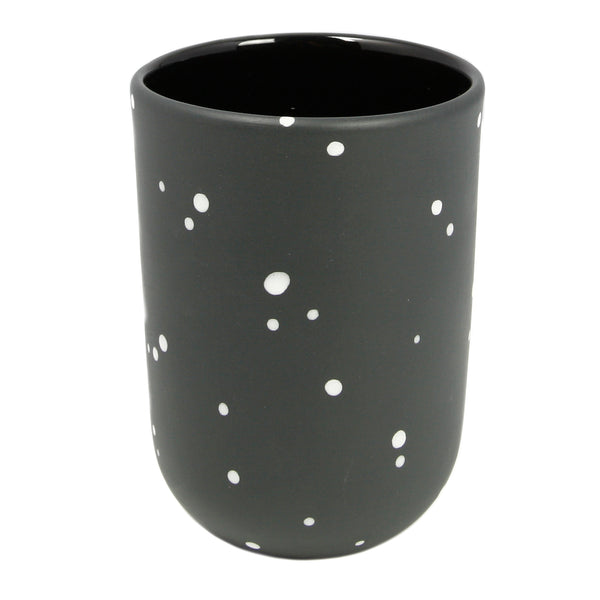 Black Dot Tall Cup
