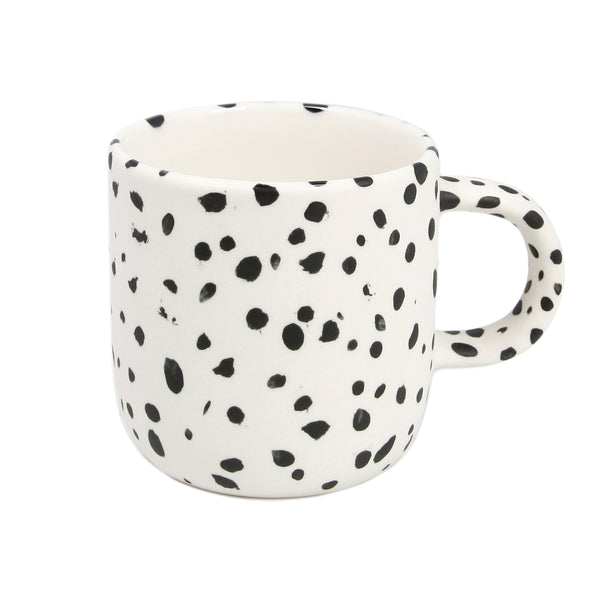 Small White Speckled Mug