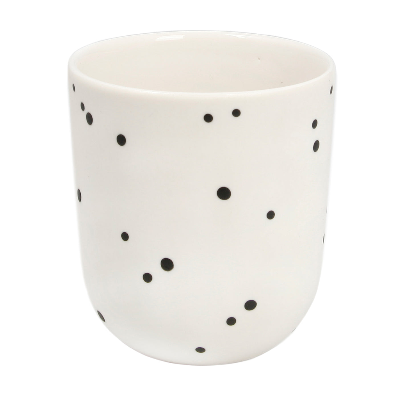 White Dot Short Cup