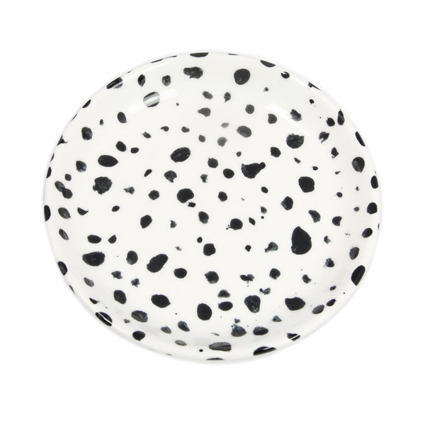 White Speckled Dish