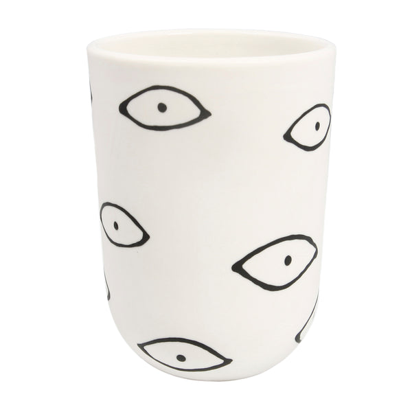 White Eye Tall Cup