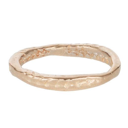 Lauren Wolf Jewelry Yellow Gold Starfish Radial Band
