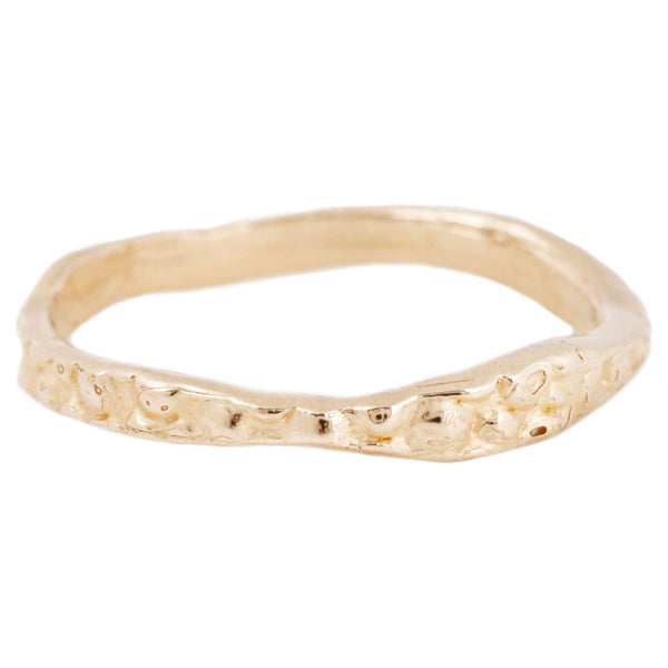 Lauren Wolf Jewelry Gold Stingray Stacking Band