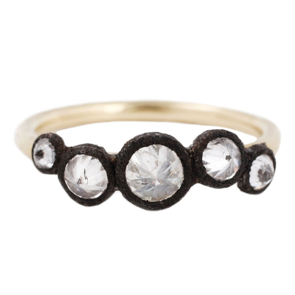 TAP by Todd Pownell Inverted White Diamond Ring