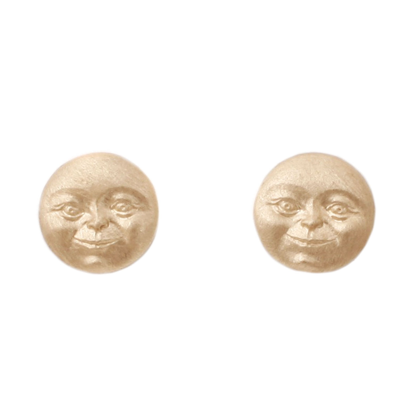 Anthony Lent Invisible Man In The Moon stud earrings