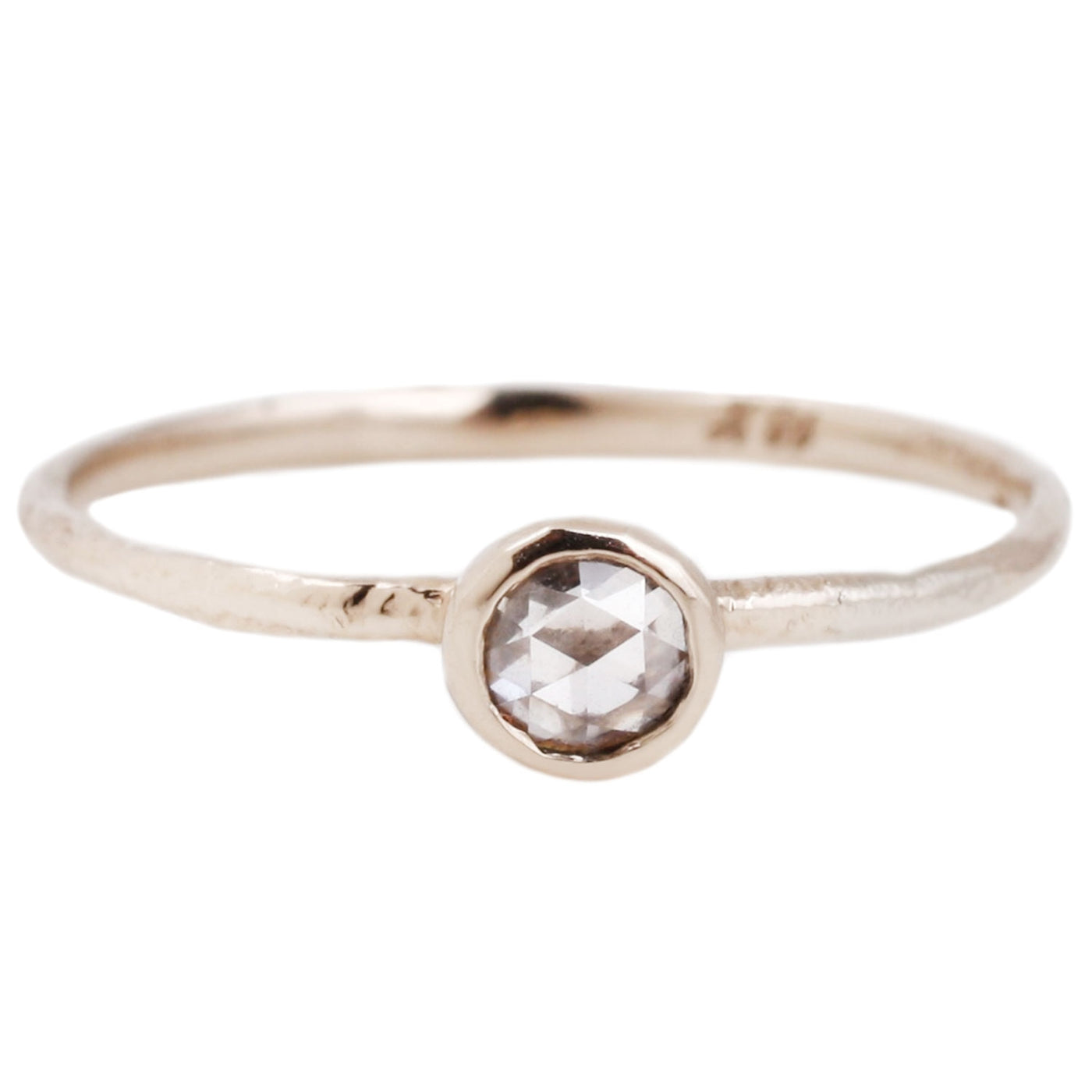 Diamond Circle Ring - White Gold - Satomi