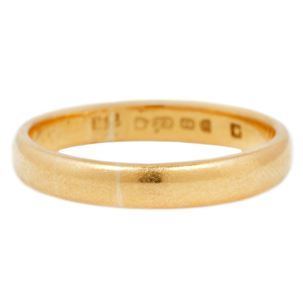 Vintage English Gold Band