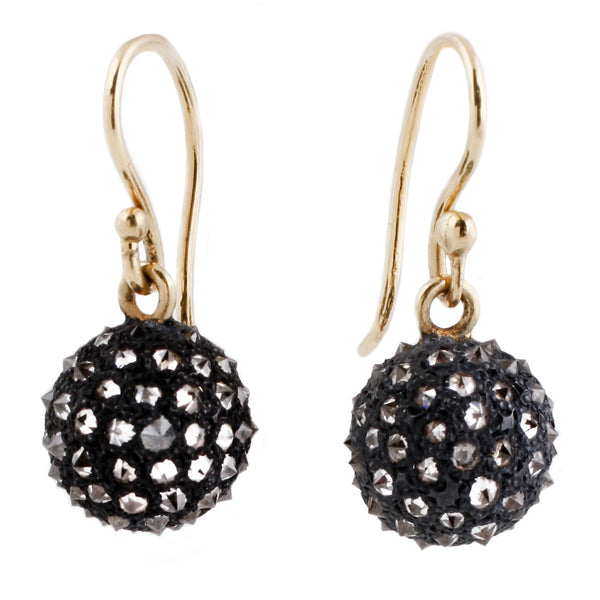 TAP by Todd Pownell Diamond Sphere Earrings