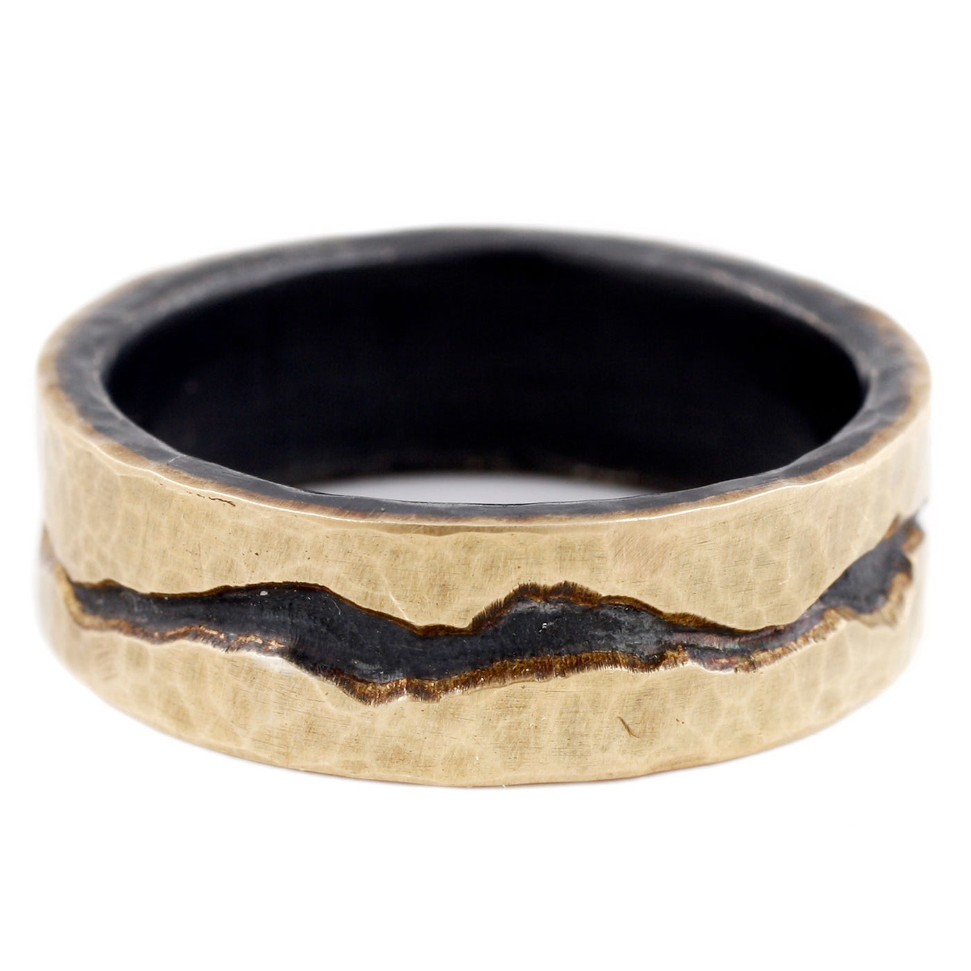 TAP by Todd Pownell Gold and Silver Band Ring