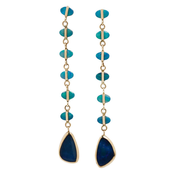Melissa Joy Manning Seven Opal Drop Earrings
