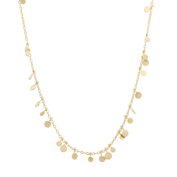 Sia Taylor Random Gold Dots Necklace