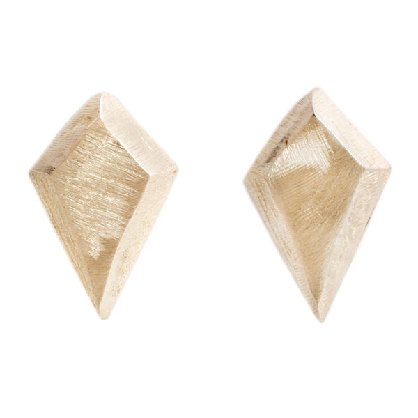 Adeline Gold Kite Stud Earrings