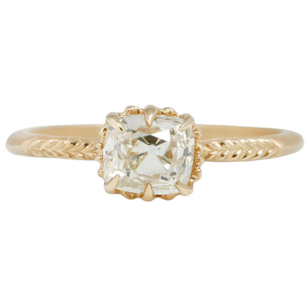 Megan Thorne Evergreen Diamond Solitaire Ring