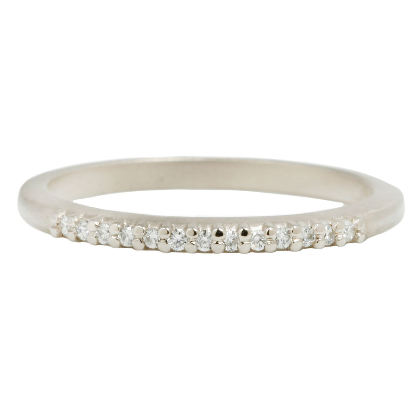Megan Thorne Slender Pave Diamond Band