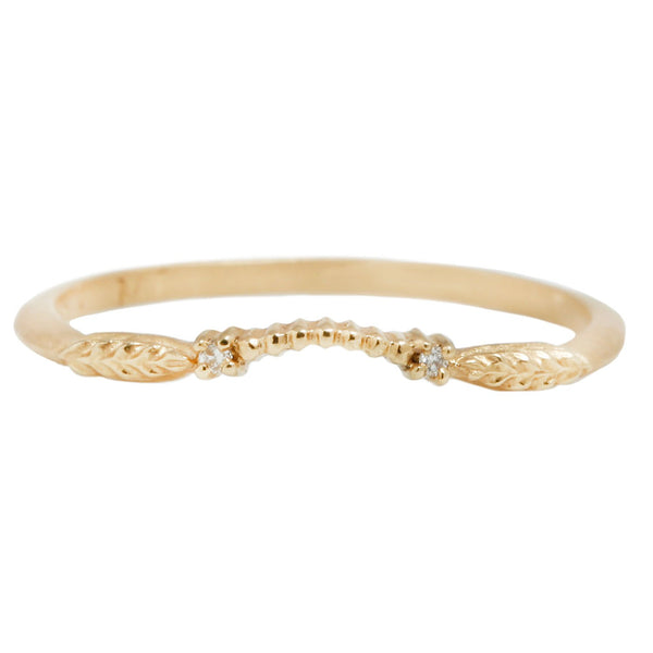 Megan Thorne Evergreen Diamond Nesting Band