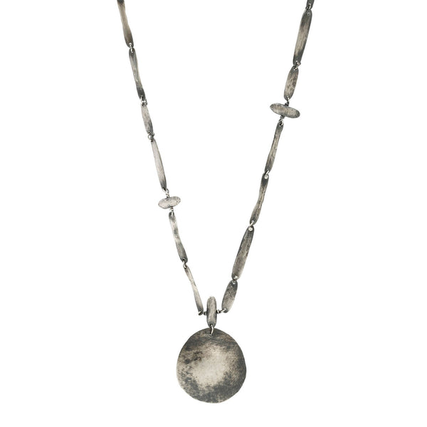 Melissa Joy Manning Silver Rosary Necklace