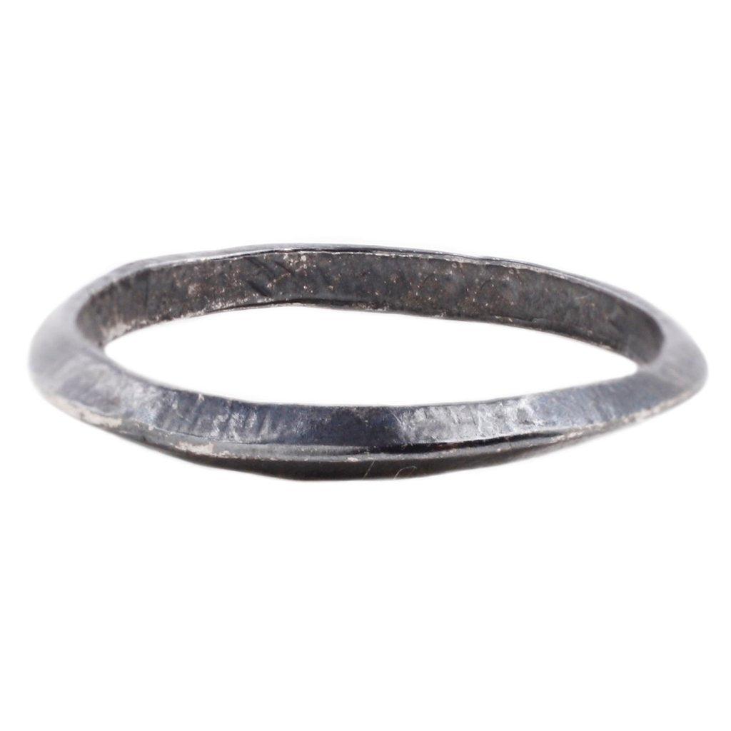 Oxidized Silver Axis Ring