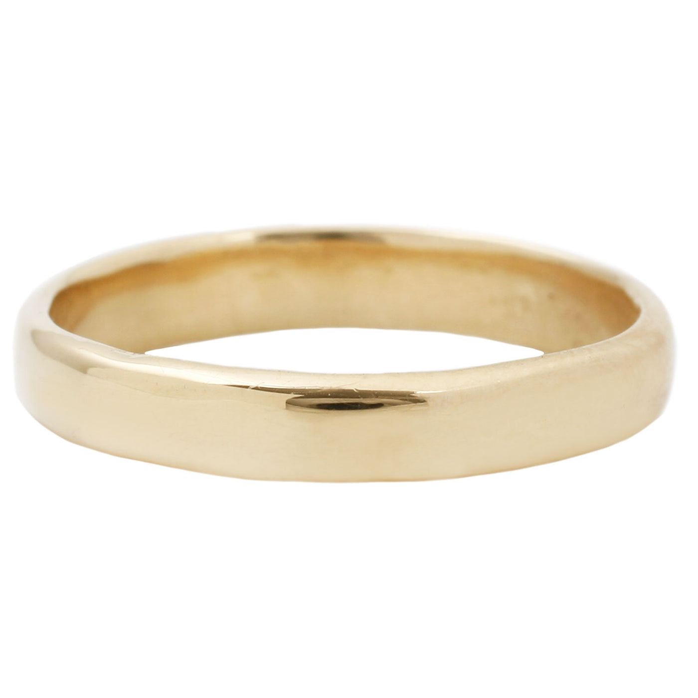 Lauren Wolf Thin Yellow Gold Men's Band