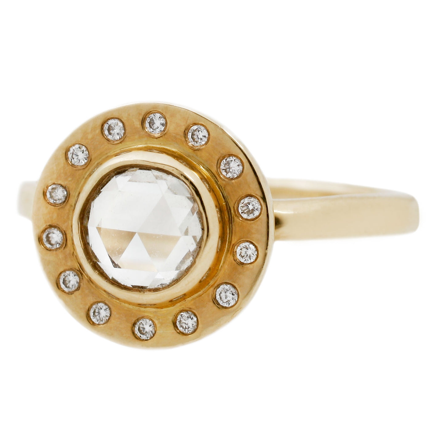 Melissa Joy Manning Diamond Halo Ring