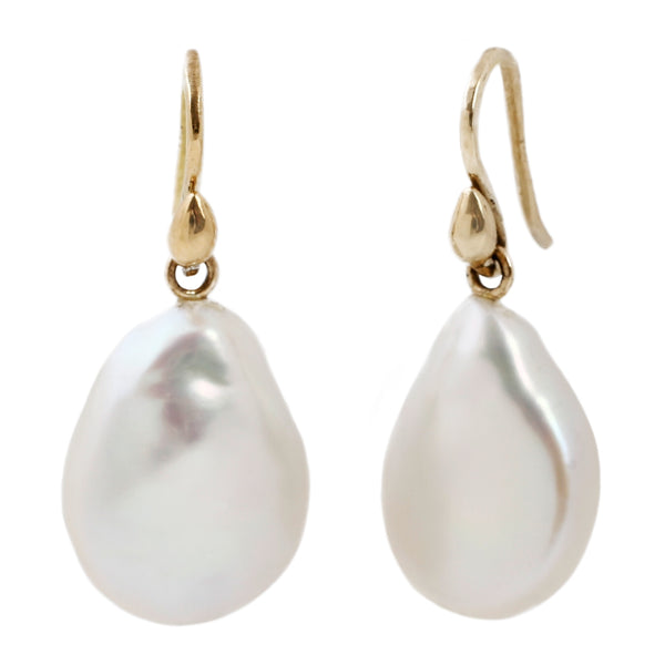 Kimberlin Brown White Biwa Pearl Drops.