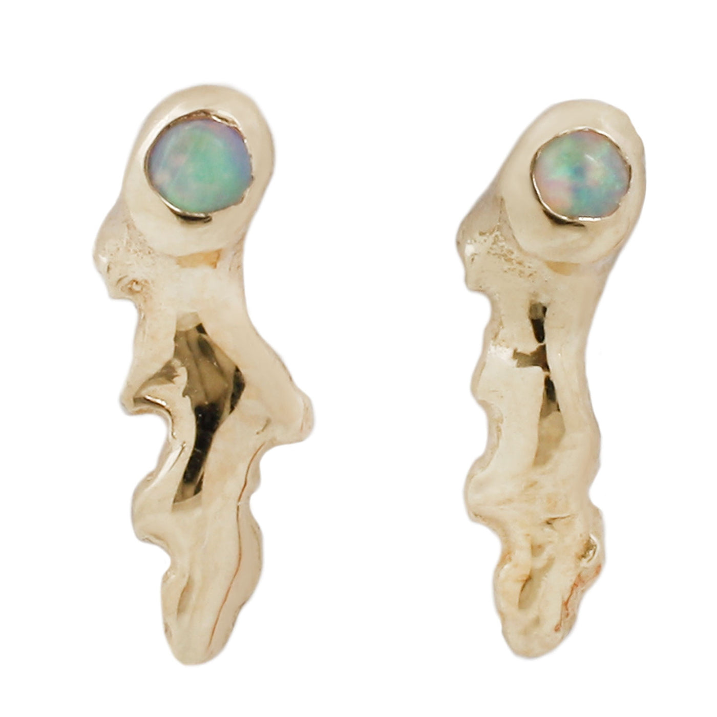 Opal Shooting Star Studs