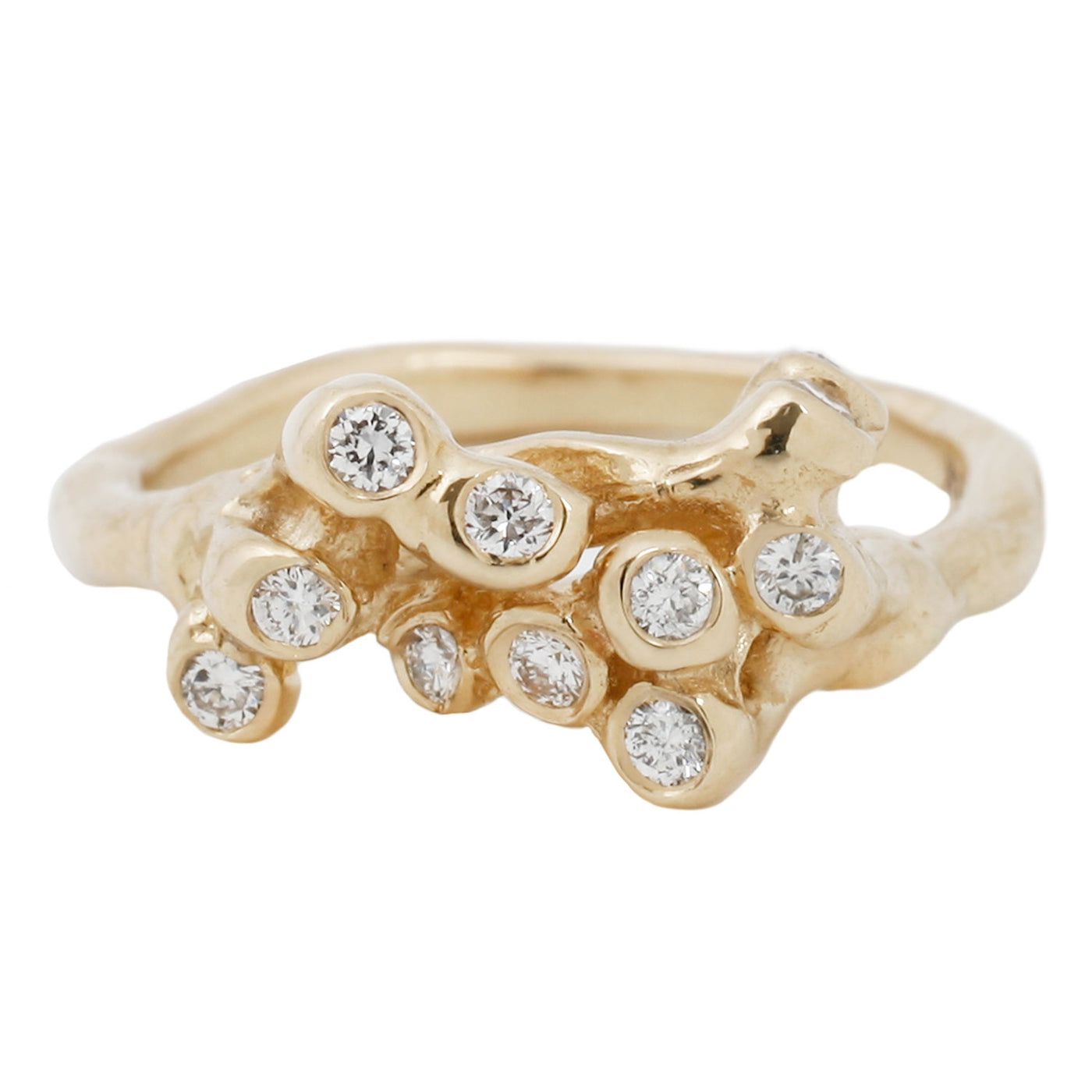 Diamond Sea Anemone Ring