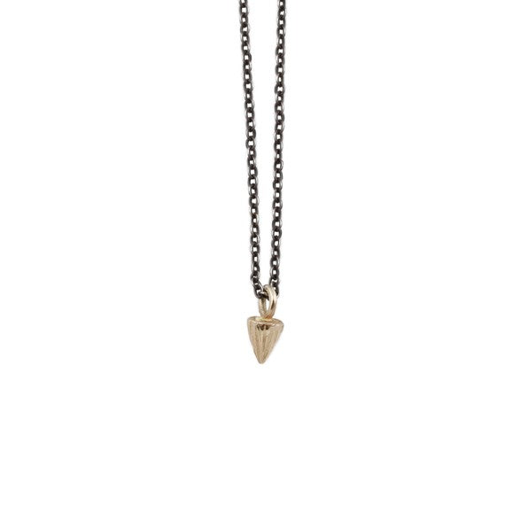Sarah Swell Gold Mini Mountain Necklace