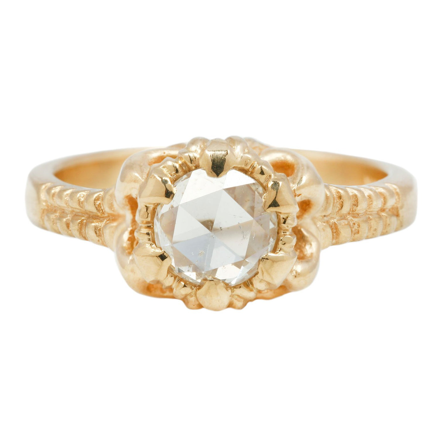 Susan Highsmith Diamond Solitaire Lilith Ring