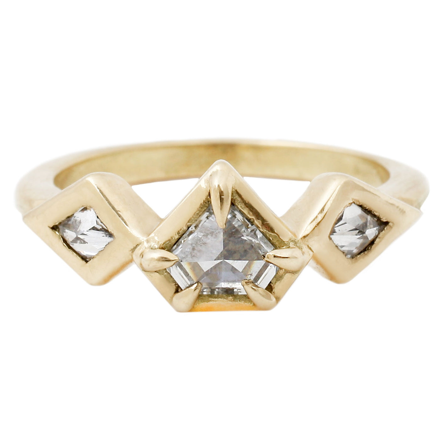 Demi Prism Diamond Ring
