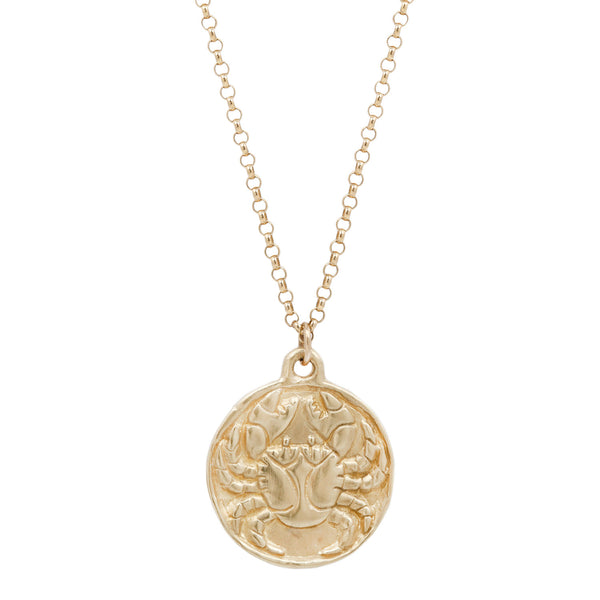 Susan Highsmith Cancer Zodiac Necklace