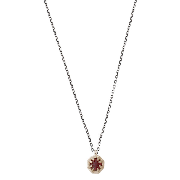Tiny Ruby Necklace