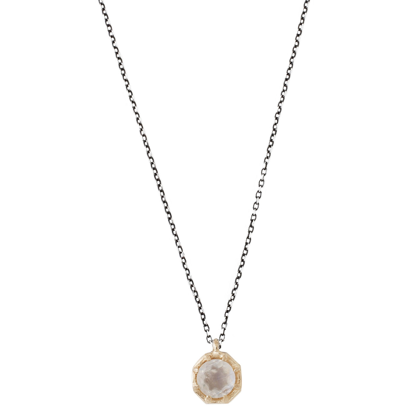 Lauren Wolf Rainbow Moonstone Necklace